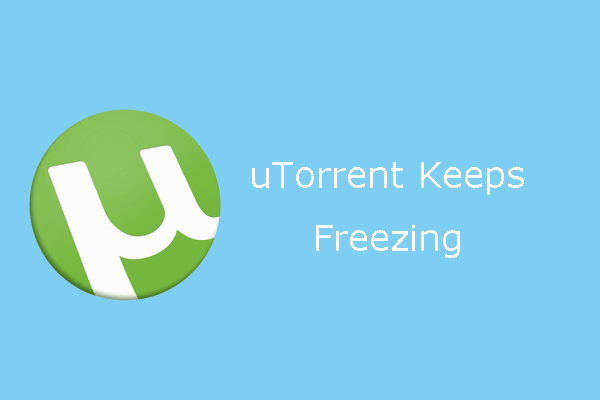 uTorrent keeps freezing