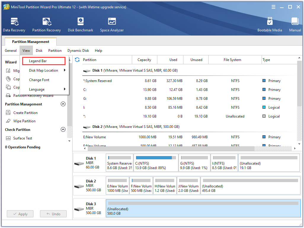 MiniTool Partition Wizard Free Edition 11.0